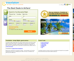 Travelation Coupon
