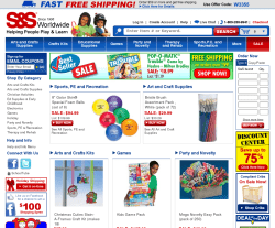S&S Worldwide Coupon