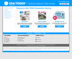 USA today Coupon 2018