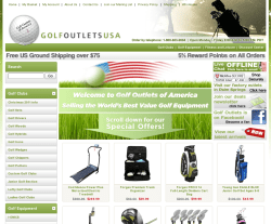 Golf Outlets USA Coupon