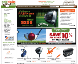 GolfClubs Coupon 2018