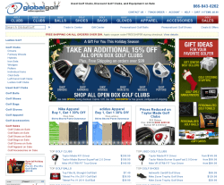 GlobalGolf Coupon 2018