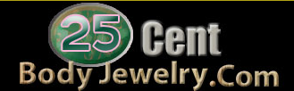 25CentBodyJewelry Coupons