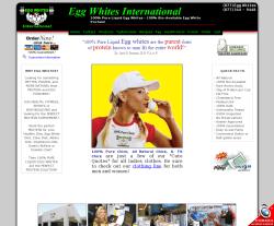 Egg Whites International Coupon 2018