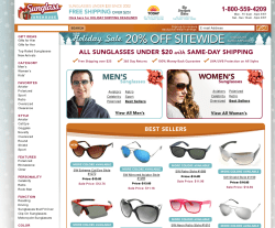 Sunglass Warehouse Coupon 2018