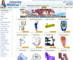 Vitality Medicals Promo Codes 2018
