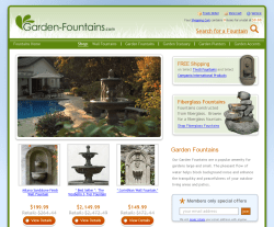 Garden Fountains Coupons