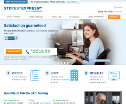 STD Test Express Coupon 2018