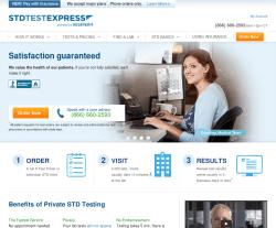 STD Test Express Coupon