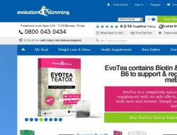 Evolution Slimming Discount Code 2018