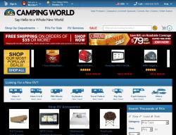 Camping World Promo Codes 2018