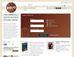 Biblio UK Discount Code