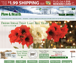 Plow & Hearth Promo Codes 2018