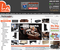 LA Furniture Store Promo Codes