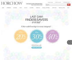 Horchow Promo Code 2018