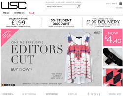 USC Discount Code