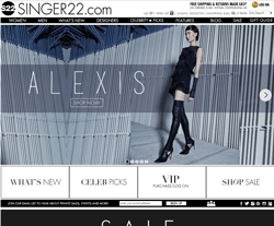 Singer 22 Coupon 2018