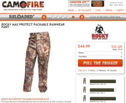 Camofire Coupon