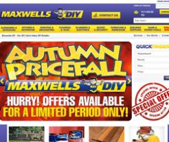 Maxwells DIY Discount Code