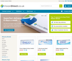 VisionDirect Coupons