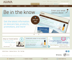 AHAVA Coupon
