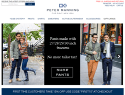 Peter Manning NYC Promo Codes 2018