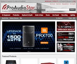 ProAudioStar Coupon