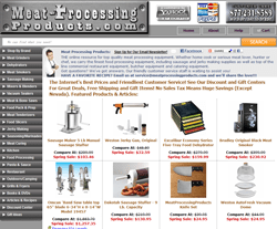 Meat Processing Products.com Promo Codes