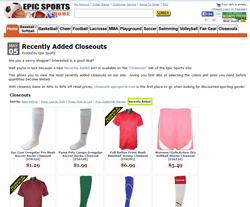 Epic Sports Coupons