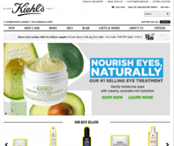 Kiehls Coupons & Promo Codes 2018