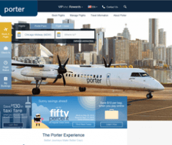 Porter Airlines Promo Codes