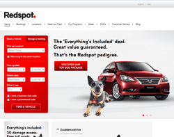 Redspot Car Rentals Promo Codes 2018
