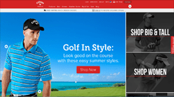 Callaway Apparel Coupon 2018