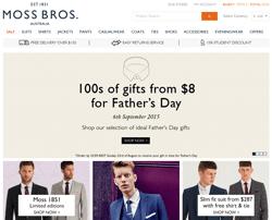 Moss Bros Australia Promo Codes