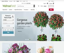 Waitrose Florist Promo Code 2018