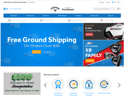 Callaway Golf Preowned Promo Codes 2018