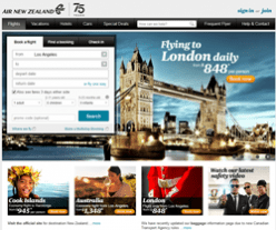 Air New Zealand Promo Codes