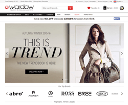Wardow Discount Codes 2018