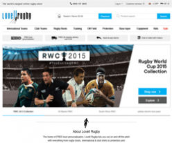 Lovell Rugby Discount Code