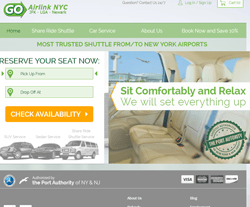 GO Airlink NYC Coupon