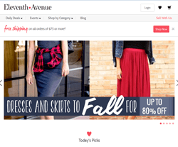 Eleventh Avenue Coupon 2018