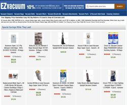 EZ VACUUM Coupon 2018