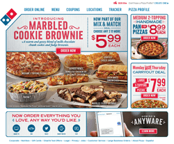 Dominos Coupons 2018