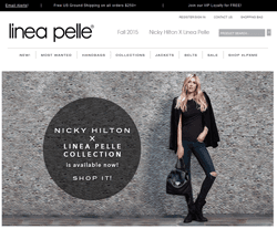 Linea Pelle Coupon 2018