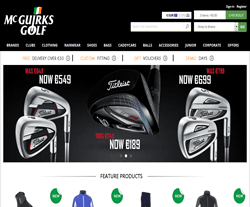 McGuirks Golf Promo Codes 2018