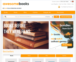 AwesomeBooks Coupon