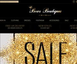 Bows Boutique Discount Code