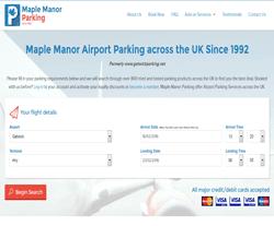 Maple Manor Parking Voucher Code