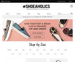 Shoeaholics Discount Code 2018