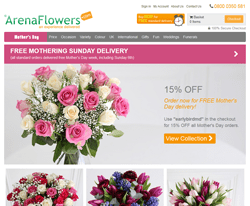 Arena Flowers Discount Code